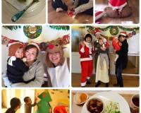 12月13日・17日「ベビーサイン継続クラス」(12月クリスマス)のようす